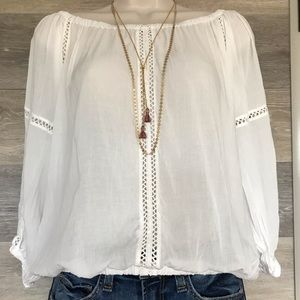 YFB off the shoulder blouse